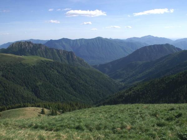 Ecomuseo Val Sanagra - Veduta del Parco Naturale della Val Sanagra