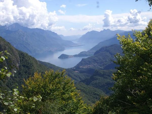 Ecomuseo Val Sanagra - Scorcio su Bellagio e il Lago di Como